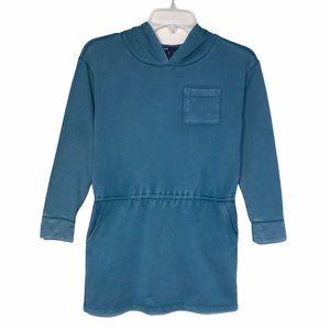 Gap Sunwashed Cotton Hooded Dress / Tunic